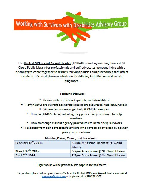 Advisory Group Flyer