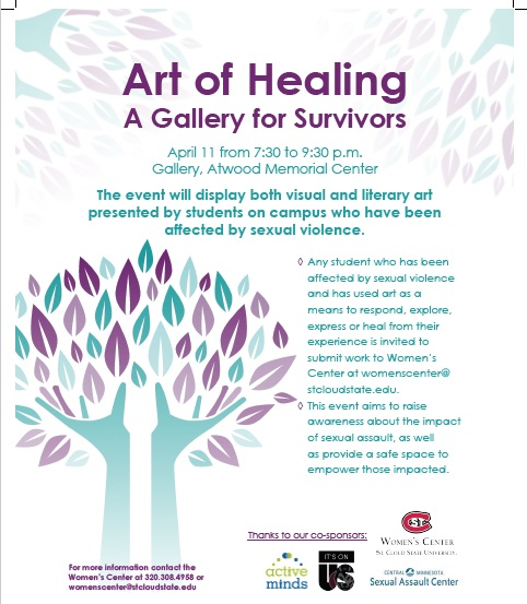 Art of Healing Event Women's Center