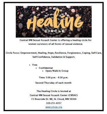 Healing Circle Flyer