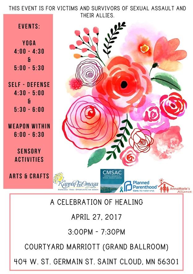Survivor's United Appreciation Event Flyer