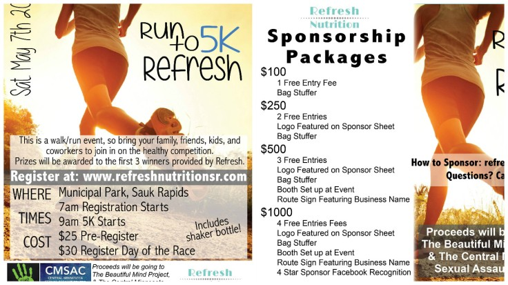 5k Flyer and Additional Info Photo