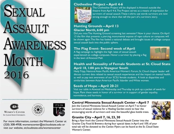 SAAM Women's Center Flyer