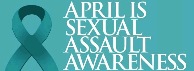 Sexual Assault Awareness Month Ribbon FB Cover Page