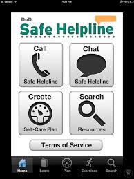 DOD Safe Helpline Photo for Veteran Tab