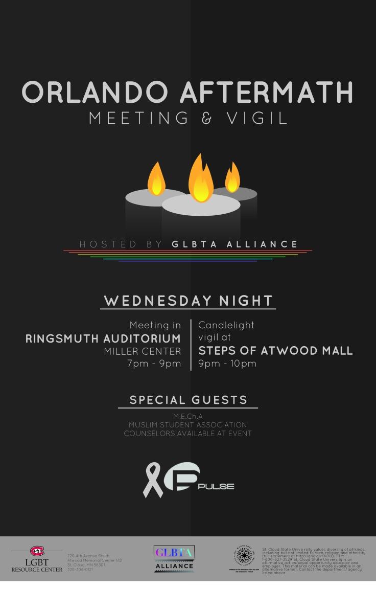 LGBT Vigil Poster