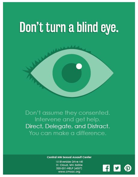 Don't Turn An Eye New Green Poster