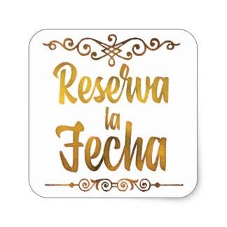 Reserva La Fecha