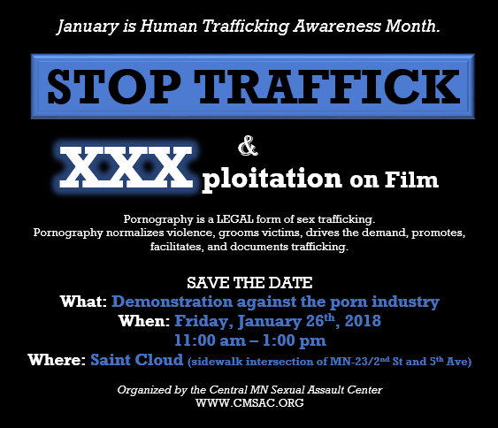 Stop Traffick on Film- Savethedate