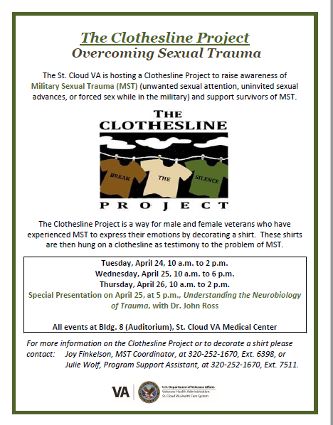 VA Clothesline Project 2018