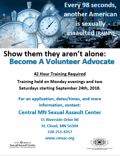 Fall 2018 Advocate Trng Flyer