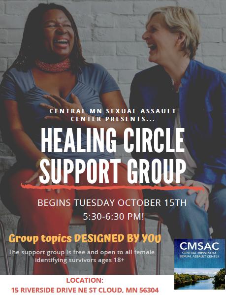 Fall 2019 Healing Circle Flyer Pic