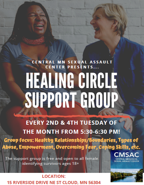 Fall 2019 Healing Circle Flyer Pic Most Updated