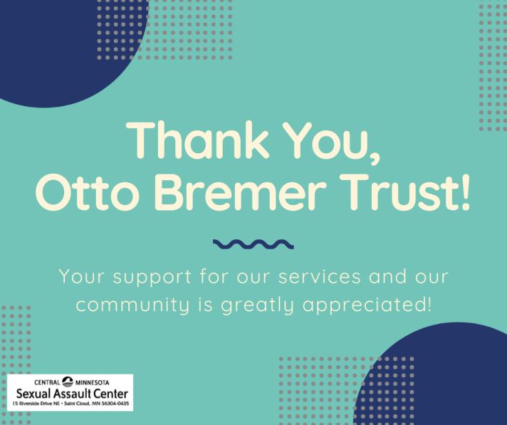 Thank You Otto Bremer Trust!